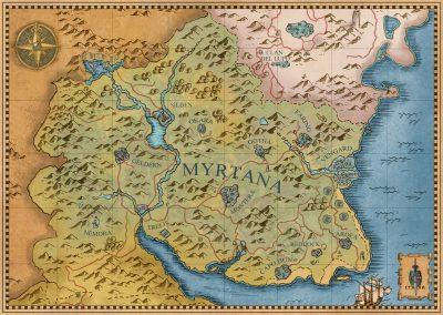 Mappa del mondo vuota
