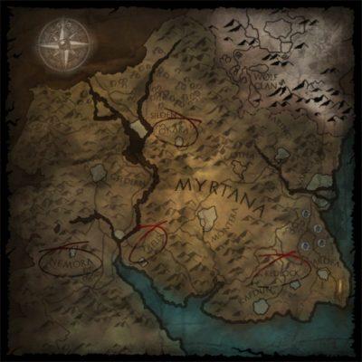 Mappa dell'evocatore