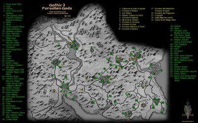 Mappa dettagliata