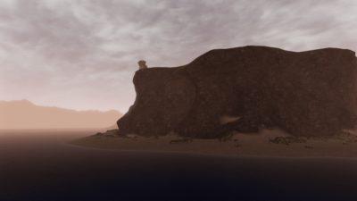La costa alta di Ardea alle primi luci dell'alba