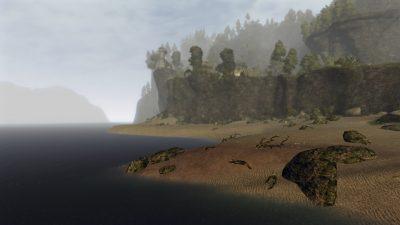 Il villaggio si erge alto sul mare