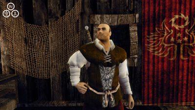 Il padrone di casa, Wulf