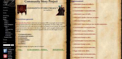 La pagina del CSP su Gothic Italia contiene tutto il materiale pubblicato tradotto in italiano.