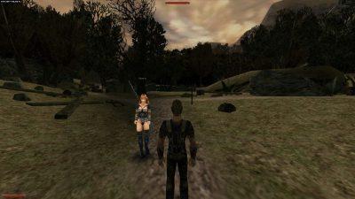 Thora - la ragazza sa di sicuro come maneggiare un bastone.