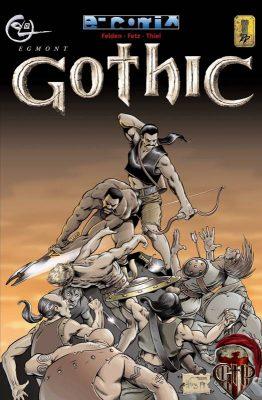La copertina del comic