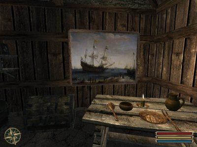 Quadro appeso nella capanna di Jack (Gothic 3)