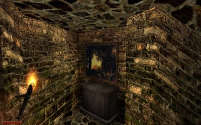 Quadro appeso nella torre di Xardas (Gothic 2)