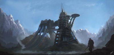 ...e fantascienza. Altre strutture sembrano decisamente high-tech.