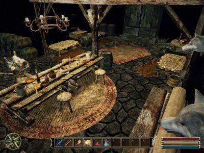Ecco come ci appariva la taverna di Geldern nella versione originale...