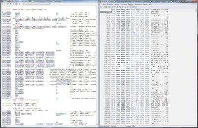 Gli editor esadecimali erano parte integrande della nostra vita da sviluppatori all'inizio del progetto...