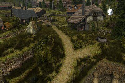 Un tranquillo sentiero nelle campagne di Vaduz, dove ogni fattoria ha i suoi appezzamenti di terra... e i suoi problemi!